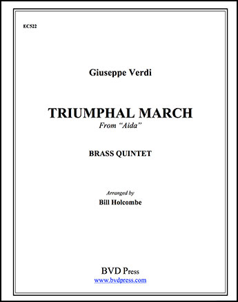 Triumphal March from Aida-Brs Quintet
