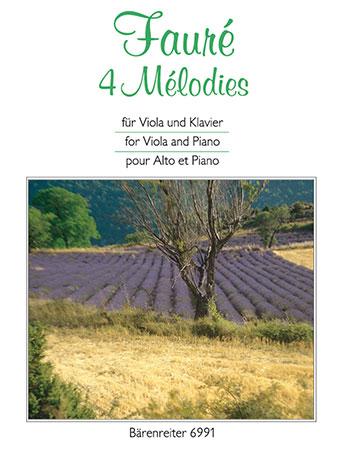 Four Melodies-Viola/Piano