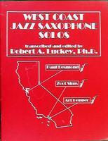 West Coast Jazz Saxophone Solos