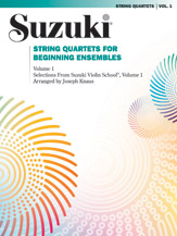 String Quartets for Beginning Ensembles