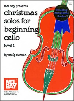 Christmas Solos for Beginning Cello