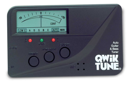 Quik Tune Automatic Guitar and Bass Tuner