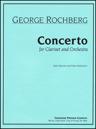 Concerto for Clarinet-Clarinet Solo
