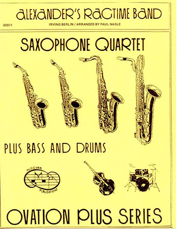 Alexanders Ragtime Band-Sax Quartet