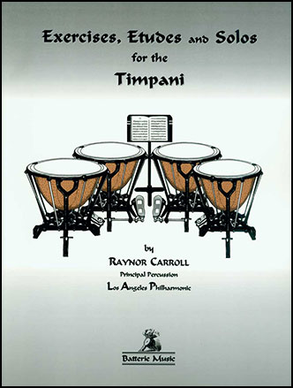 Exercises Etudes and Solos for Timpani