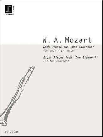 Eight Pieces from Don Gio-Clarinet Duet