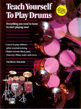 Teach Yourself to Play Drums-Book