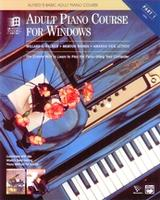 Alfred's Basic Adult Piano Course   Cover
