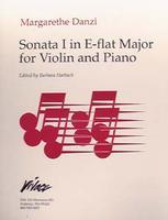 Sonata No. 1 in E Flat-Violin
