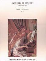 Six Etudes de Concert Op. 35