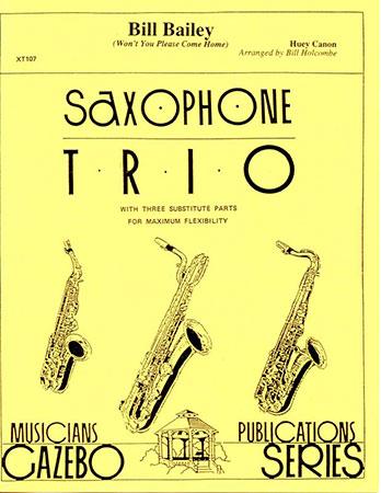 Bill Bailey-Sax Trio