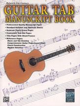 Manuscript Book-Guitar Tab M