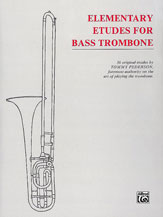 Etudes for Bass Trombone-Elementary