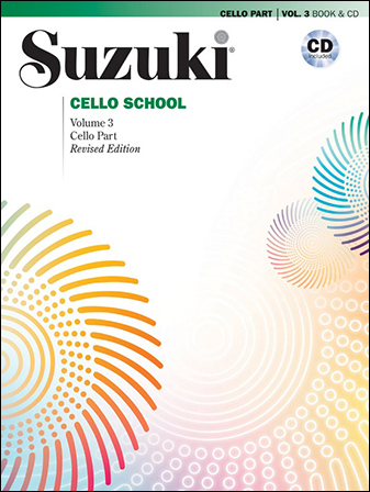 Suzuki Cello School, Vol. 3