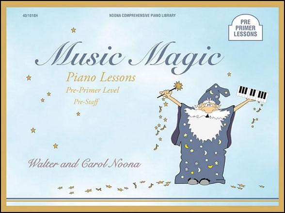 music magic pre primer lessons cover