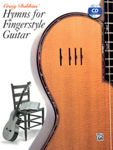 Hymns for Fingerstyle Guitar-Book and CD