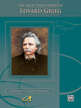 Great Piano Works of Edvard Grieg   Cover