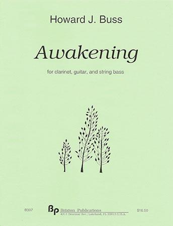 Awakening-Clarinet/Gtr/Strg Bass