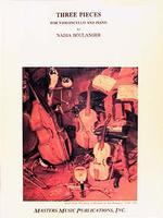 Three Pieces-Cello