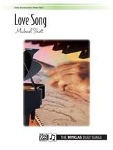 Love Song-1 Piano 4 Hands