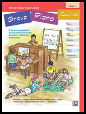 Alfred's Basic Group Piano Course