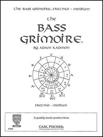 Bass Guitar Grimoire - Medium Fretpad
