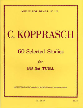 60 Selected Studies for BBb Tuba
