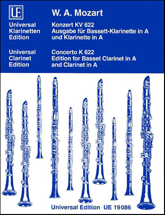 Concerto K. 622-Clarinet or Basset Clar