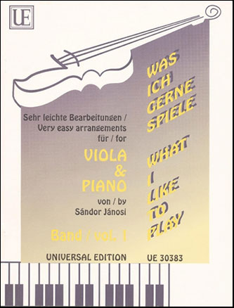 What I Like to Play Vol 1-Viola