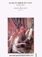 Etude en Forme de Valse Op. 52 No. 6