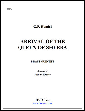 Arrival of the Queen of Sheb-Brs 5t