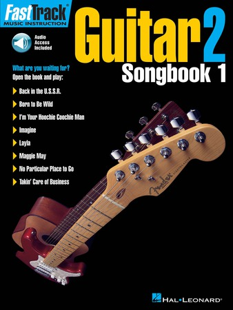 Fast Track Guitar No. 2 - Songbook