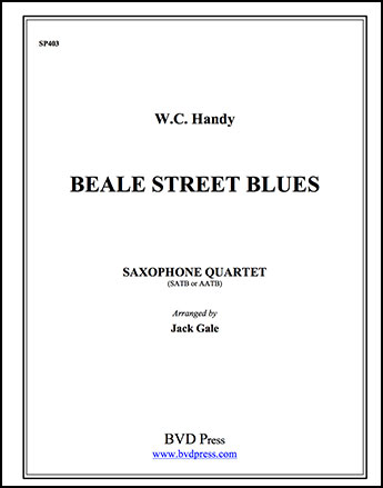 Beale Street Blues-Sax Quartet