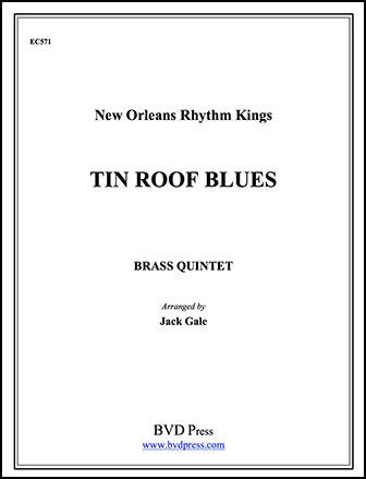 Tin Roof Blues-Brass Quintet
