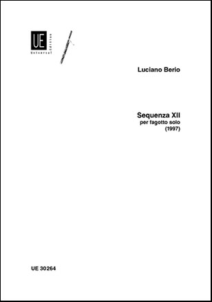Sequenza No. 12-Bassoon Solo