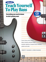 Teach Yourself to Play Bass-Book and CD