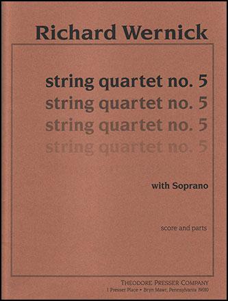 String Quartet No. 5-Score and Parts