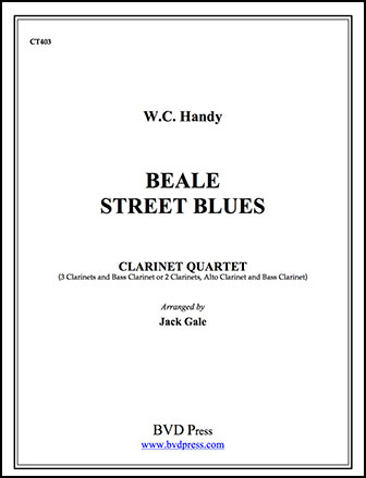Beale Street Blues-Clarinet Quartet