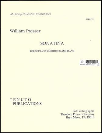Sonatina-Soprano Sax and Piano