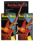 Rock Bass Basics-Book/Two Videos