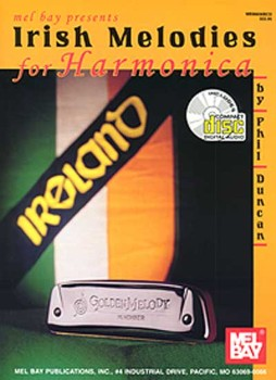 Irish Melodies for Harmonica-Book and CD