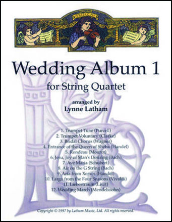 Wedding Music for Strings: Solos, Trios and Quartets | Sheet