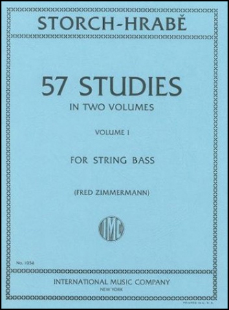 57 Studies No. 1-String Bass
