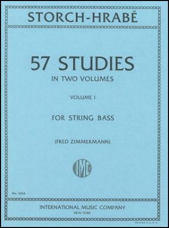 57 Studies No. 1-String Bass