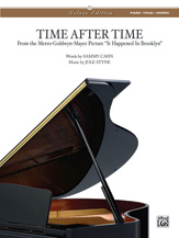 Time after Time-Piano/Vocal