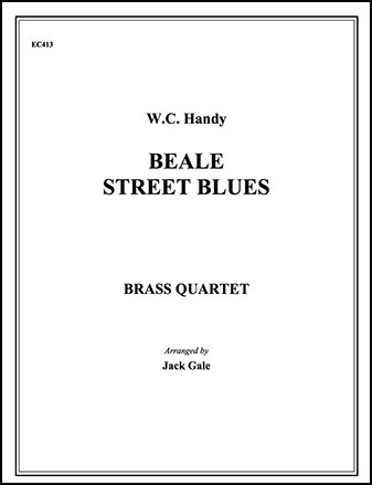 Beale Street Blues-Brass Quartet
