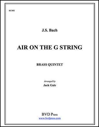 Air on the G String-Brass Quintet
