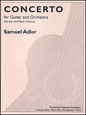 Concerto for Guitar and Orch-Pf Red