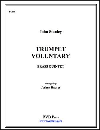 Trumpet Voluntary-Brass Quintet