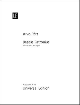 Beatus Petronius-Score